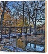 Park Bridge Wood Print