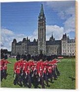 Parliament Building Ottawa Canada  Wood Print by Garry Gay