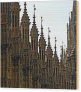 Parliament's Spires Wood Print