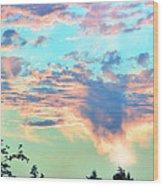 Parrish Sunset Wood Print