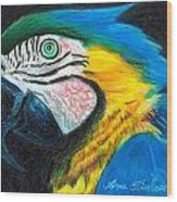 Parrot Miniature Wood Print
