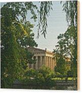 Parthenon At Nashville Tennessee 12 Wood Print