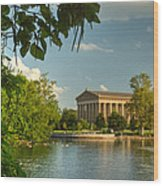 Parthenon At Nashville Tennessee 13 Wood Print