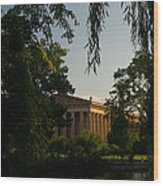 Parthenon At Nashville Tennessee 14 Wood Print