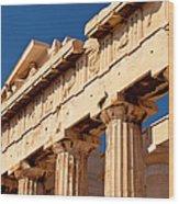 Parthenon Wood Print by Brian Jannsen