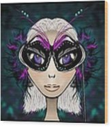 Party Girl Wood Print