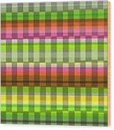 Party Stripe Wood Print