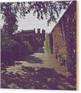 Passageway At Hampton Court Palace Wood Print