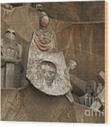 Passion Facade Spain Wood Print
