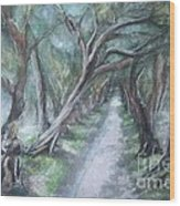 Pathwalk Wood Print