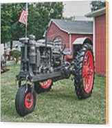 Patriotic Farmall Wood Print