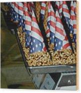 Patriotic Treats Virginia City Nevada Wood Print