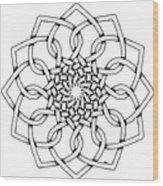 Pattern 18 Wood Print