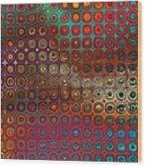 Pattern Study I Reflections Wood Print