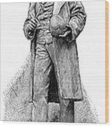 Paul Broca, French Anatomist Wood Print