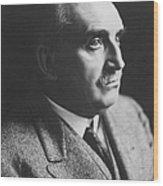 Paul Claudel (1868-1955) Wood Print