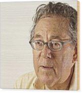 Paul J. Crutzen, Dutch Chemist Wood Print by Volker Steger