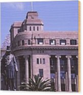 Paul Kruger Church Square Wood Print