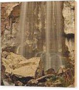 Paulina Falls Cascade Wood Print