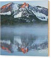 Paulina Lake Reflections Wood Print