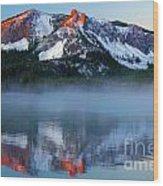 Paulina Peak Reflections Wood Print
