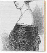 Pauline Viardot-garcia Wood Print