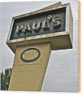 Paul's O Wood Print