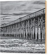 Pawleys Island Pier Wood Print