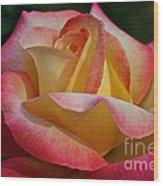 Peaceful Petals Wood Print