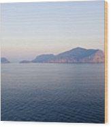 Peaceful Waters In Golfo Aranci, Sardinia Wood Print