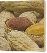 Peanuts 6 Wood Print