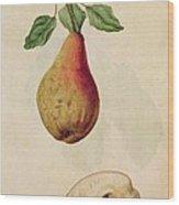 Pear   Pyrus Communis Wood Print