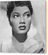 Pearl Bailey, Portrait Ca. 1952 Wood Print by Everett