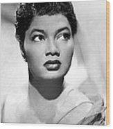Pearl Bailey, Portrait Ca. 1952 Wood Print by Everett