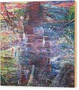 Pearl Od Thw Caribbean - La Perla Del Caribe Wood Print by Miguel Conesa Osuna