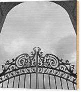 Pearly Gates Wood Print