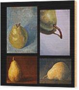 Pears The Series Wood Print