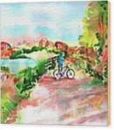 Peavine Trail Prescott Arizona Wood Print by Sharon Mick