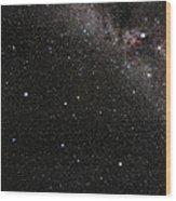Pegasus Constellation Wood Print