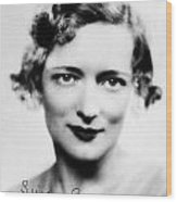 Peggy Wood (1892-1978) Wood Print