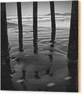 Peir Legs Wood Print