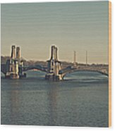 Pelham Bridge - Fade Wood Print