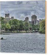 Pembroke Castle Wood Print