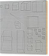 Pencil 10-15 Wood Print