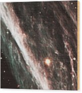 Pencil Nebula Supernova Remnant Wood Print