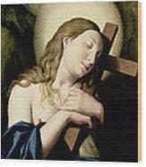 Penitent Magdalene Wood Print