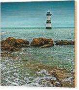 Penmon Point Wood Print
