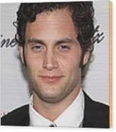 Penn Badgley At Arrivals For The 2009 Wood Print by Everett