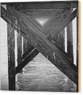 Penthouse Pier Wood Print