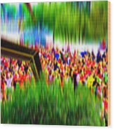 People Walking In The City-8 Wood Print